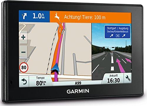 Garmin DriveSmart 50 LMT-D EU Navigationsgerät - lebenslange Kartenupdates, Verkehrsfunklizenz, Sprachsteuerung, 5 Zoll (12,7 cm) Touch-Glasdisplay