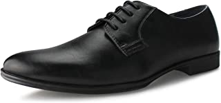 Hawkwell Men's Casual Classic Lace Up Oxfords Lace Dress Shoes