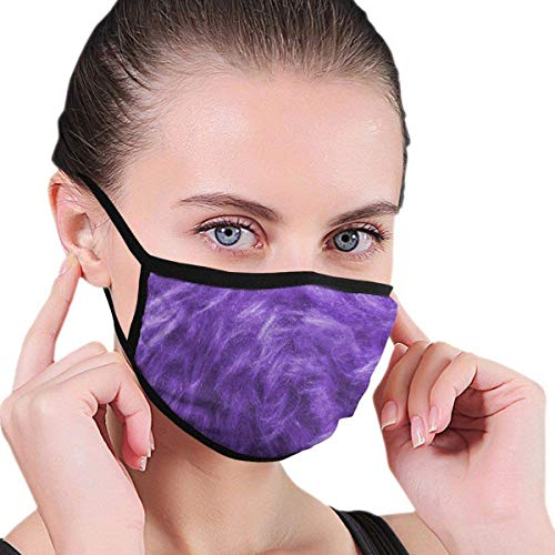 Lilac Purple,Unisex Mouth Mask Adjustable Anti Dust