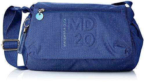 Mandarina Duck Md20 15116tt6, borsa bowling, Turquoise (Imperial 01Y) (Blu) - 15116tt6_Imperial 01y