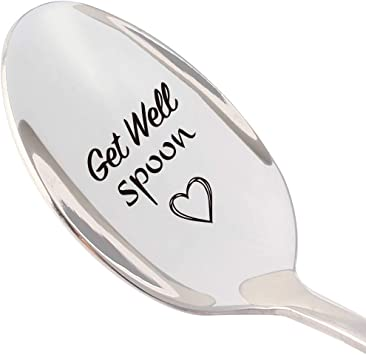 """This Adorable """"Get Well"""" Spoon"""