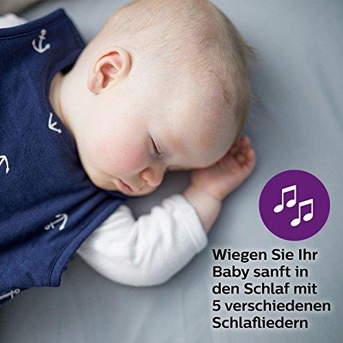Philips Avent Audio-Babyphone SCD723/26, DECT-Technologie, Eco-Mode, 18 Std. Laufzeit, Gegensprechfunktion