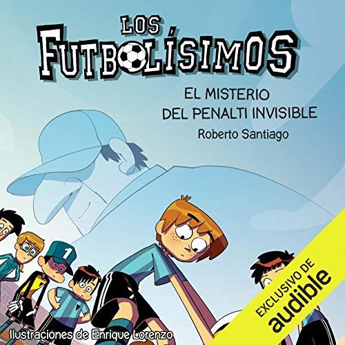 Diseño de la portada del título El Misterio Del Penalti Invisible