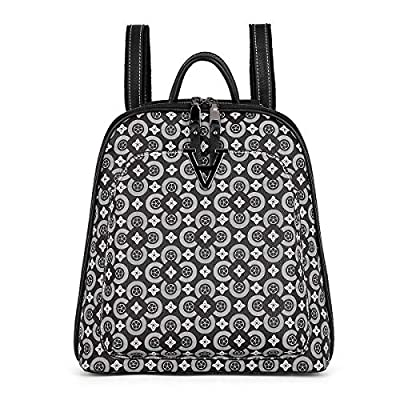 Amazon - Save 80%: Women Bags Backpack Purse PU Leather Zipper Bags Casual Backpacks Sh…
