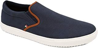 Duke D555 Mens Blair Low Rise Slip On Trainers Shoes