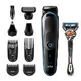 Braun 9-in-1-Trimmer MGK5280 Barttrimmer, Bodygrooming-Set und Haarschneider für Herren,...