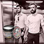Hair Pomade for Men (New Formula) - Medium Hold and Matte Shine Free for Classic Look 4oz - Water Based & Easy to Wash… 4