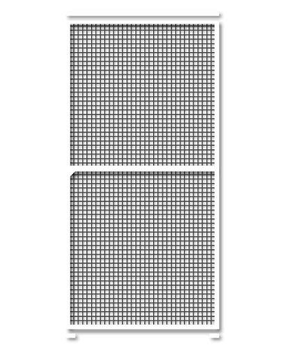 Schellenberg 70072 Insektenschutz Schiebetür 120 x 240 cm Fliegengitter Schiebetüre