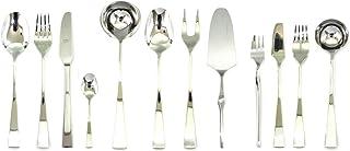 Mepra 132228113S Set, [113 Piece, Polished Silver Finish, Dishwasher Safe Cutlery