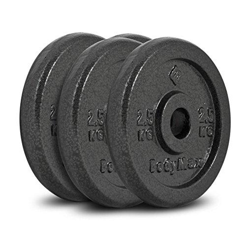 Bodymax Standard Hammertone Weight Disc Plates - 4 x 2.5kg