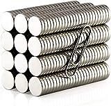 Gebildet 200pcs 5mm×1mm Magnete Tondo,Magneti al Neodimio,Magnete da Frigorifero,Permanente Magnete,per Ufficio,Artigianato,Scienza Project etc
