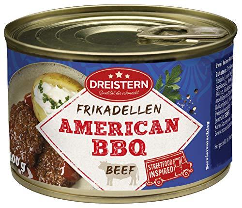 DREISTERN, Rinderfrikadellen in BBQ Sauce g, 400 g