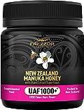 FREZZOR Manuka Honey UAF1000+, New Zealand Manuka Honey, Cold & Flu Symptom Relief, Infused with Noel Turner's UAF1000+ Seven Superfood Antioxidants, 1000x More Power, Skin Digestive Immune Supplement