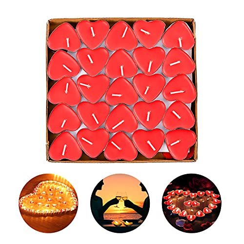 candele profumate rosse RANJIMA - Candele scaldavivande piatte