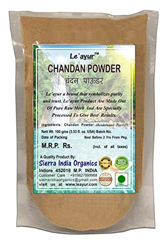 Le'ayur Chandan (Sandalwood) Powder 100 Gms
