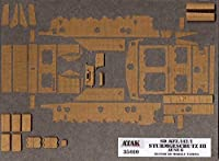 アタックモデル 35010 1/35 III号突撃砲戦車G型ツェメリットコーティング(アルケットパターン) (タミヤ)