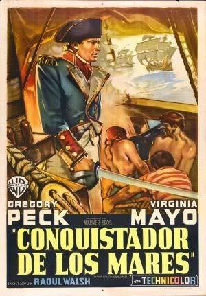 Captain Horatio Hornblower - Argentinian – Film Poster Plakat Drucken Bild – 43.2 x 60.7cm Größe Grösse Filmplakat Christopher LEE