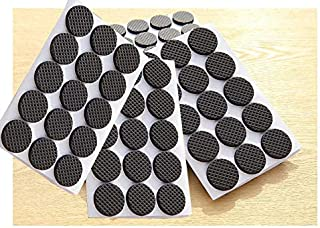 90pcs Adhesive Rubber Furniture Feet Floor Protector Pads Anti-Skid Scratch D I Y Resistant Mats Table Legs Stools Chairs ...