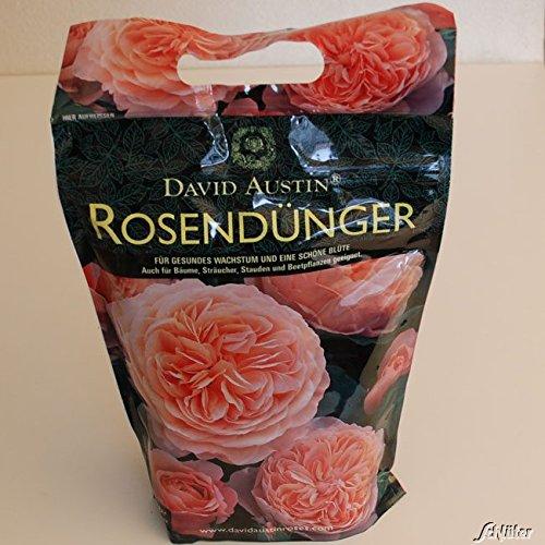 """Rosen-Dünger David Austin""""Rose Food"""" - 1,75 kg Organisch-mineralisch mit Langzeit-Wirkung für gesunde, kräftige Rosen - von Garten Schlüter"""