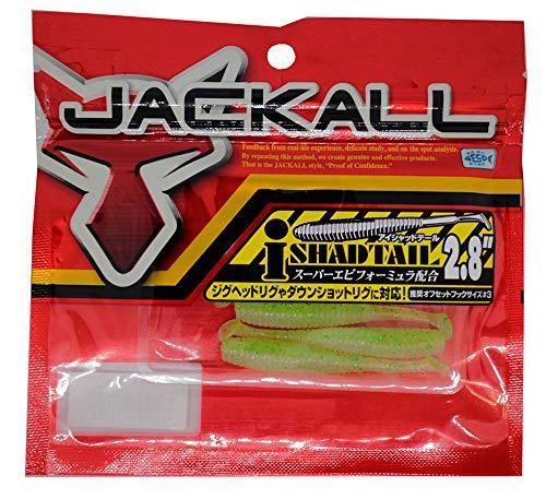 JACKALL(ジャッカル) ワーム アイシャッドテール 2.8インチ チャートバックシャッド