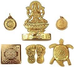 Traditional Diwali Festival Dhan Laxmi Kuber Dhan Varsha Yantra Brass Yantra For Laxmi Puja