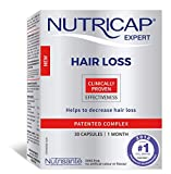 Nutricap Hair Loss Treatment, All Natural, 30 Capsules