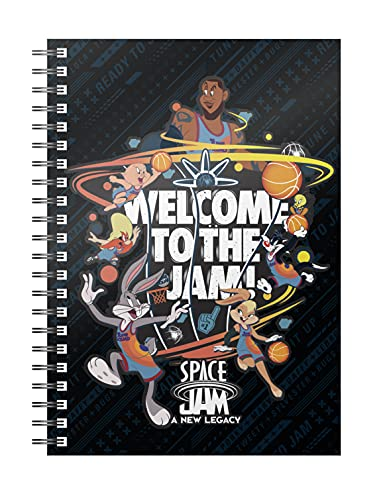 SD toys SDTWRN24883 Libreta Espiral Welcome To The Jam Space Jam Looney Tunes