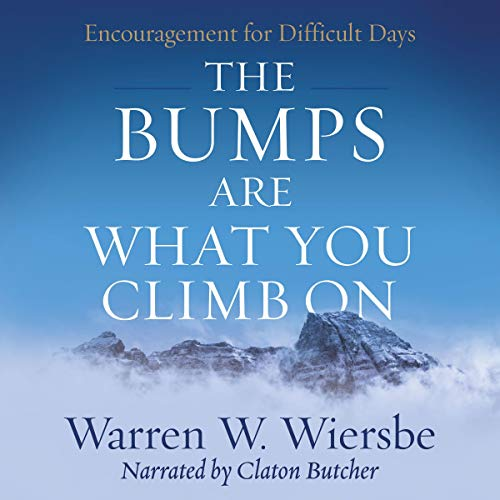 The Bumps Are What You Climb On audiobook cover art