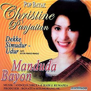 Pop Batak Christine Panjaitan