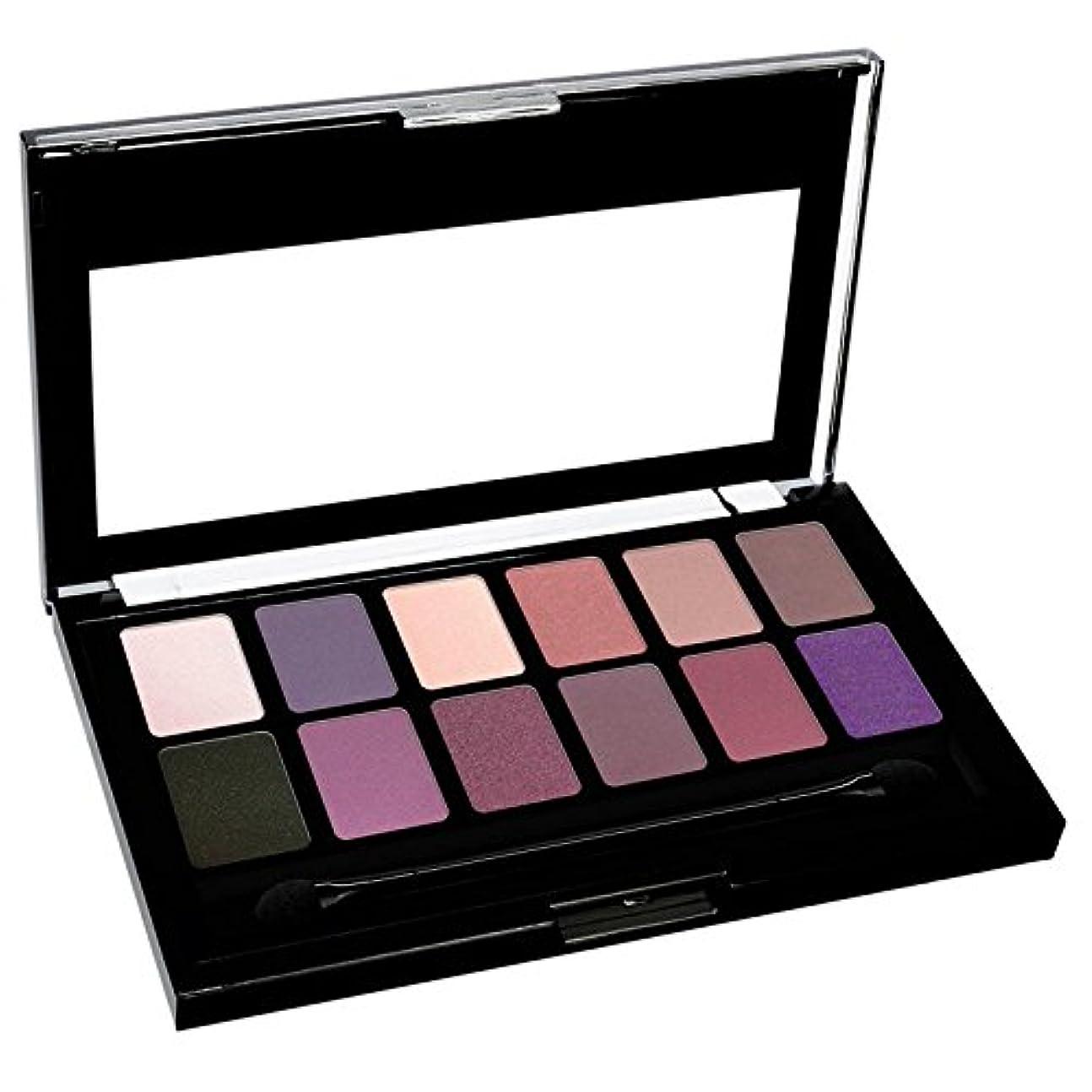 サイレン危険を冒します葉っぱKLEANCOLOR Nude Eyeshadow Collection - Rosy Nudes (並行輸入品)