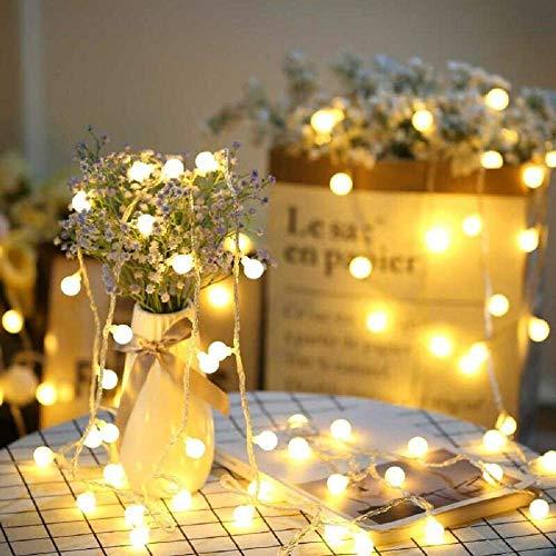 SFOUR フェアリーライト電飾led イルミネーションライト 6M40個LED 電池式 クリスマス 飾りツリー led電球...