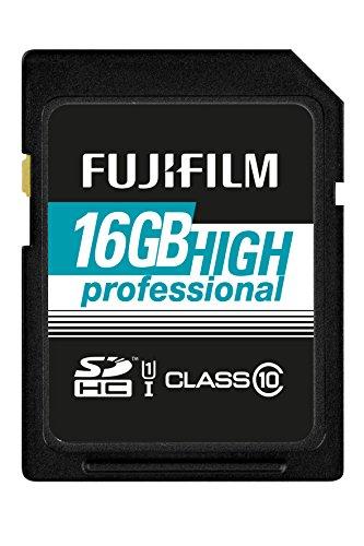 Fujifilm High Professional C10 UHS-I 16GB SDHC-Speicherkarte