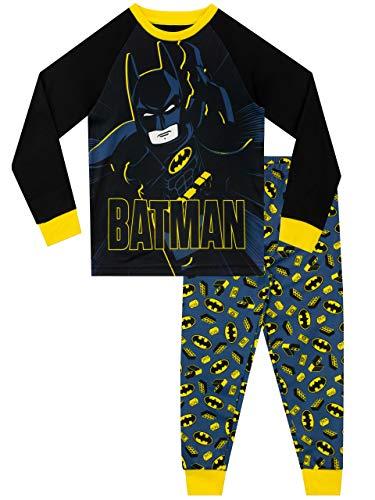 LEGO Jungen Schlafanzug Batman Mehrfarbig 146