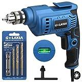 Taladro eléctrico, GALAX PRO 510W Taladro 3000 rpm, Capacidad máxima de perforación: Acero: 10mm, Madera: 16mm