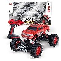 Darenbp 男の子のためのRCおもちゃ キッズRCクライミングカースタントオフロード車車のリモートコントロールクロスカントリービークルレーシングレーシングカー少年子供のおもちゃの車バギー車子供のギフトを充電玩具 おもちゃのギフト (色 : 赤)
