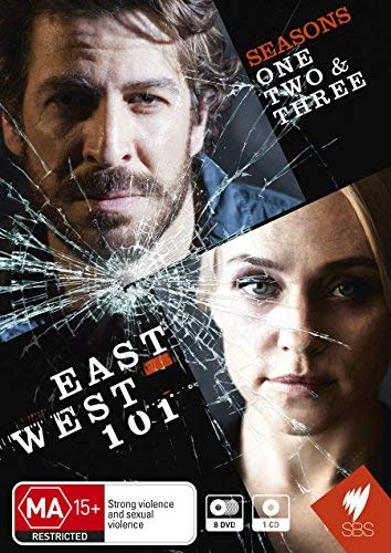 East West 101 - Seasons 1-3 - 8-DVD Set ( East West One Hundred One - Season Three ) [ Origine Australiano, Nessuna Lingua Italiana ]