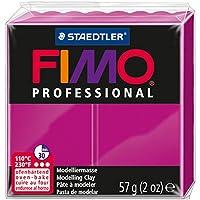 Staedtler Fimo Professional Soft Polymer Clay, 2 oz, True Magenta by Staedtler