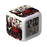 huangyung Pueblo Ninja Reloj Despertador Digital con luz, Vistoso...