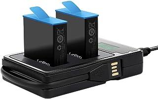 Bestmaple Conjunto de carregador de bateria USB com 2 baterias PCS Visor LCD Conjunto de bateria recarregável dupla para G...