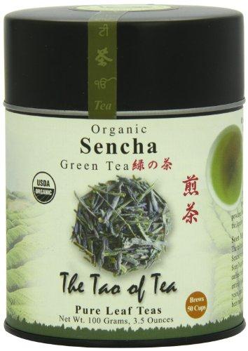 The Tao of Tea, Sencha Green Tea, Loose Leaf, 3.5 Ounce Tin