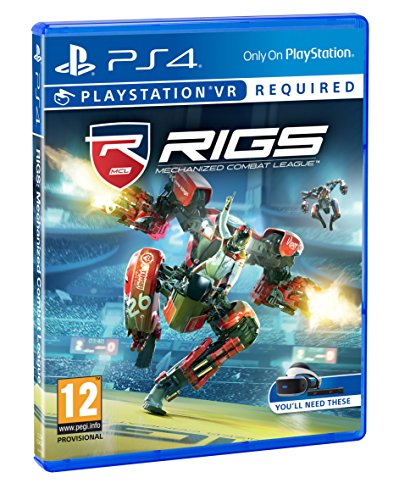 Sony RIGS Mechanized Combat League VR PS4 Nintendo geheugenkaart