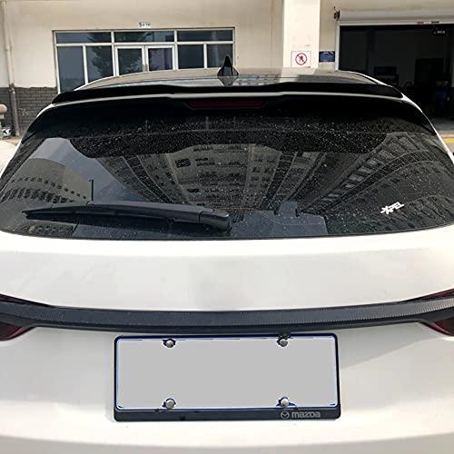 WXQYR Alerón Trasero de Fibra de Carbono Coche, alerón Trasero para Techo Trasero, alerón para Mazda CX-4 CX4 2014 2015 2016 2017, Accesorios para Coche