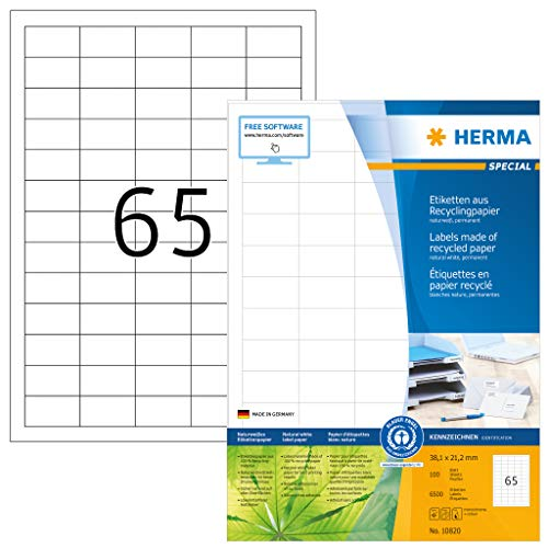 HERMA -   10820 Recycling