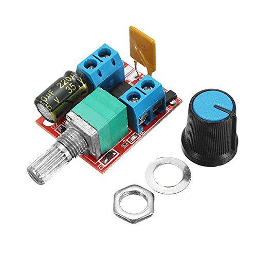 FEIYI Otros módulos de placa 10pcs 5V-30V DC PWM Controlador de velocidad...