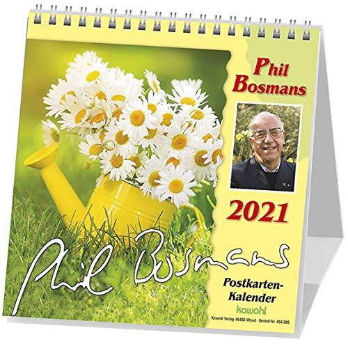 Phil Bosmans Postkartenkalender 2021: Postkartenkalender mit Texten von Pater Phil Bosmans