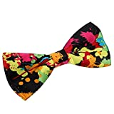 JewelryWe Herren Fliege Schleife Krawatte Binder Schlips Anzug Hemd Bow Tie Verschiedene Muster Verstellbar für Hochzeit Silvester Business Smoking