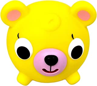 Oshaberi Doubutsu Talking Animal Ball Borukuma Stress Ball - Yellow Bear