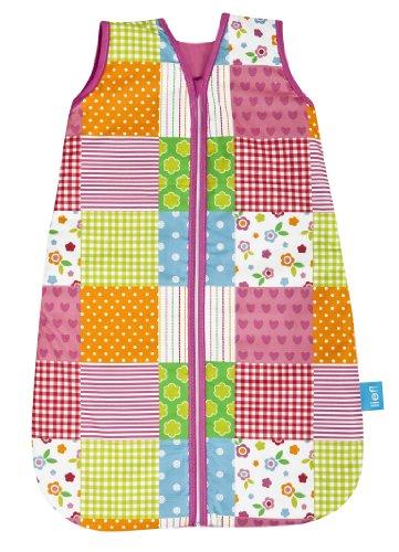 Lief! 9031012312 Sommerschlafsack, Patchwork Girls, 110 cm
