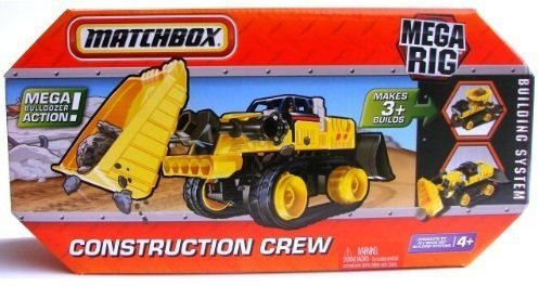 Matchbox Mega Rig Construction Crew Building System Toy