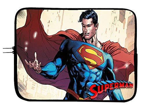 Superman Laptop Sleeve Bag 15 Inch Laptop Case Mousepad Surface MacBook Pro/MacBook Air Laptop/Tablet Water Repellent Neoprene Case